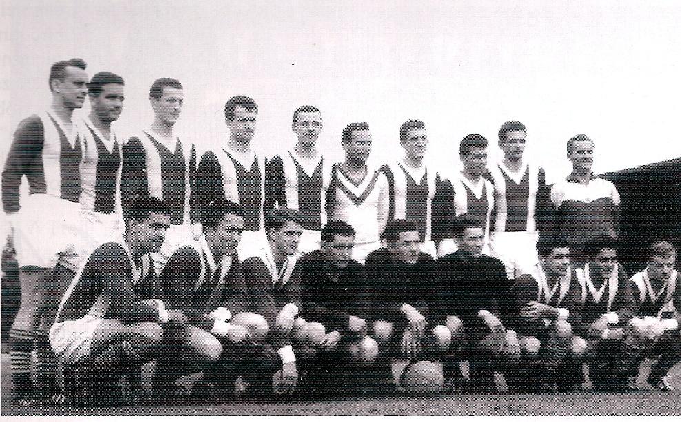 Az 1962/63 évi bajnokcsapat