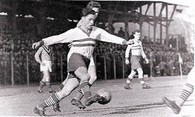 1962.12.12., Üllői út: Ferencváros - Sampdoria: 6-0 - Kökény (2)