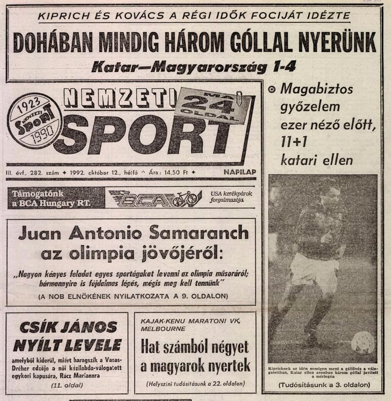 Három meccset játszik Debrecenben a katari labdarúgó-válogatott