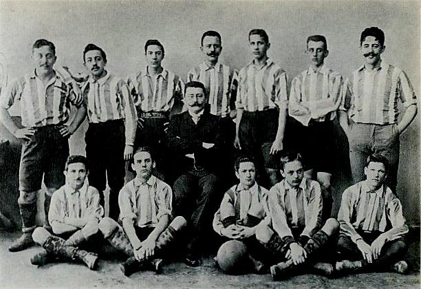 Állnak (balról): Békés G., Malaky M., Horn, Horváth F., Berán, Mertl (Maros), Malaky J. Ülnek (balról): Schwarcz-Fekete, Pokorny, Kárpáti Béla, Procskó , Borbás, Kovács G.