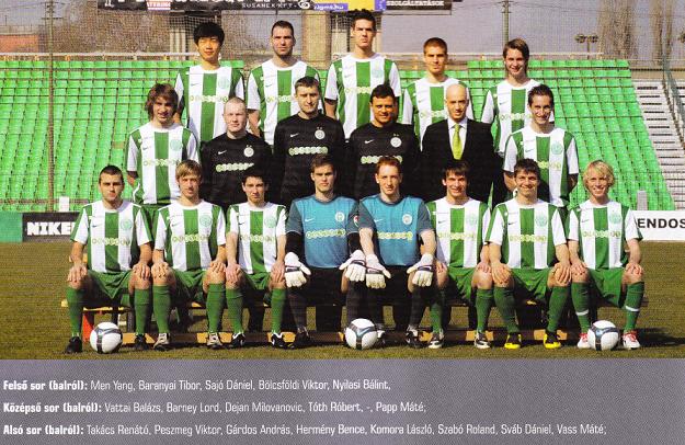 A 2009/10-es NBIII Mátra csoportjának bajnokcsapata