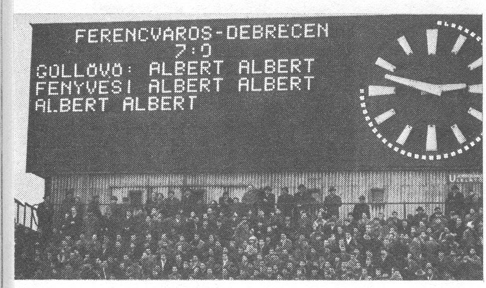 FTC - Debrecen: 7-0, Albert 6 góljával
