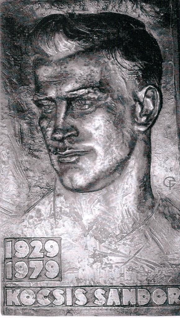 Kocsis portré (Fekete Géza szobrászművés alkotása)