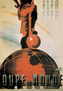 az 1938 évi. világbajnokság plakátja