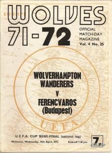 19720419_musorfuzet_wolverhampton-wanderers-ferencvaros_uefa_0001