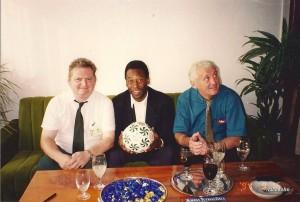 Nagy Béla, Pelé és Albert