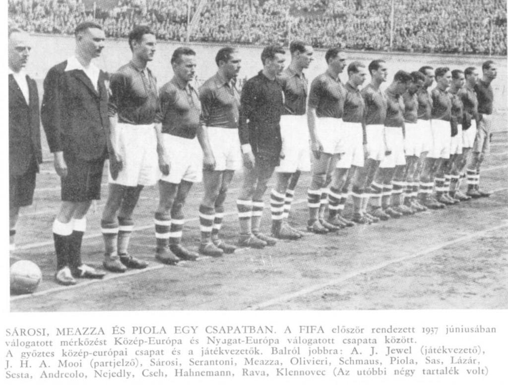 1937-vilagvalogatott-csapatkep-sarosi-lazar