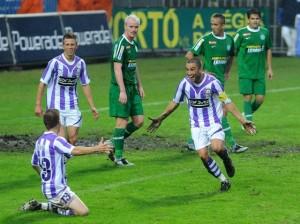 Labdarúgás - Soproni Liga - Újpest FC-Ferencváros