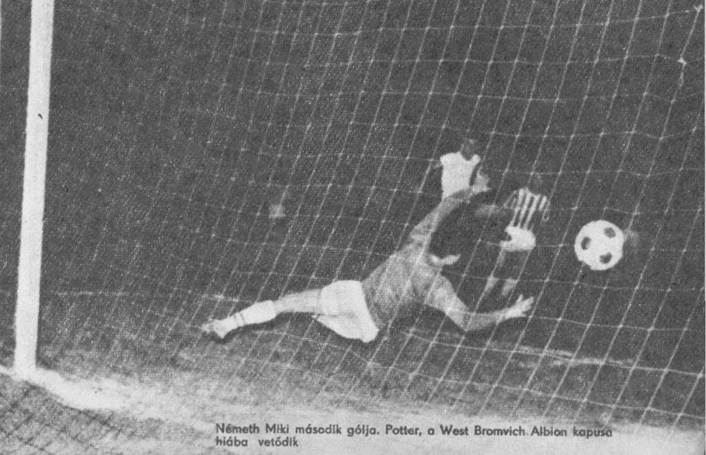 Németh második gólja