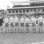 Állnak (balról): Dalnoki, Horváth Gy., Orosz, Mátrai, Albert, Vilezsál, Fenyvesi, Rákosi, Kocsis Gy., Kökény, Novák