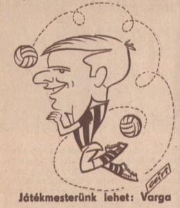 Varga Zoltán, karikatúra