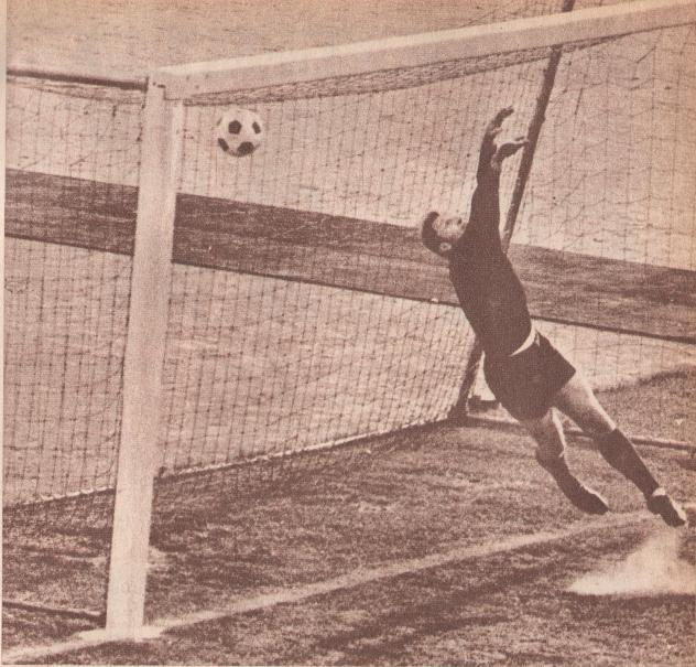 Szőke gólja 1969 májusában a Győr ellen