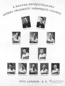 6-3 győzelmi tabló (1953.november 25.)