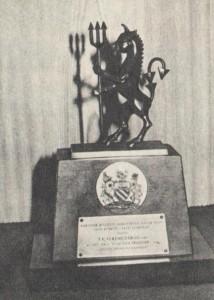 A Manchester United ajándéka az 1965-ös angliai mérkőzés emlékére