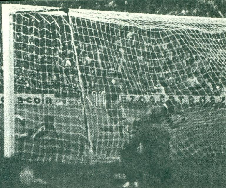 A góllal debütáló Judik öröme