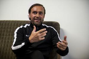 Thomas Doll, a Fradi focicsapatának edzője.