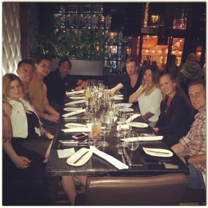 """Jenner: One of the last nice dinners in BP."""