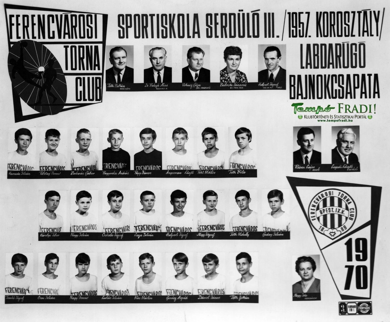 FTC-1970-serdulo-III-bajnok