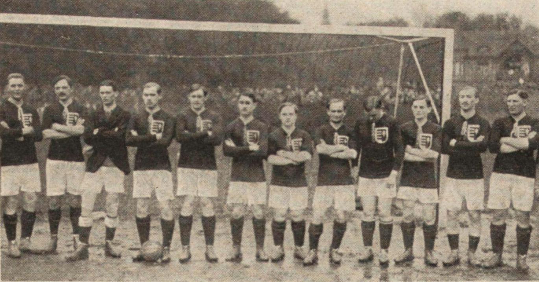 balról: Einwag, Borbás, Zsák, Schlosser, Rumbold, Pataki M., Tóth-Potya, Bródy, Payer, Blum, Biró, Weisz F.