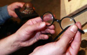Ezt a szemüveget viselte Potya élete utolsó pillanataiban...